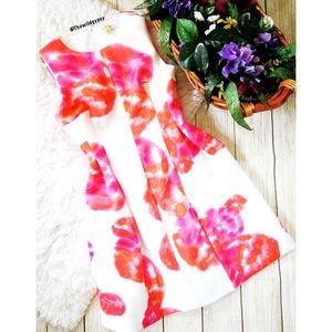 Calvin Klein Spring peplum dress 🌷